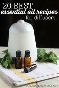 10 Essential Oil Recipes For Diffusers