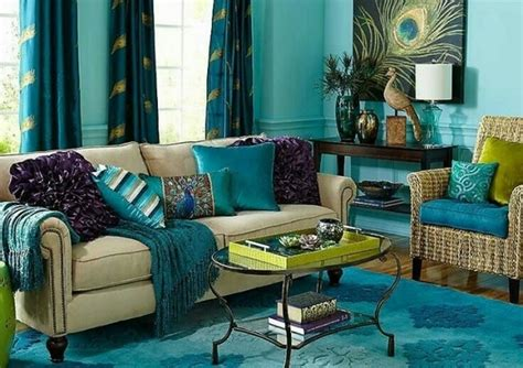 Beige Turquoise Living Room : Great Ideas For Modern Decoration In