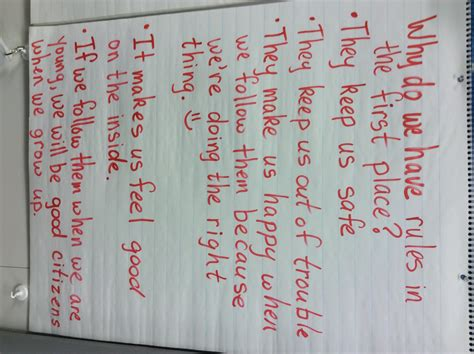 anchor charts  classroom management scholastic