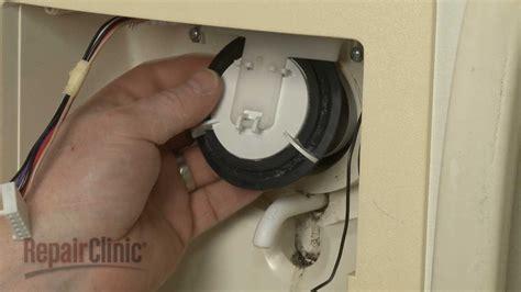 ge refrigerator dispenser door flap replacement wrx youtube