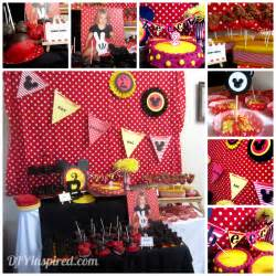 Baby Mickey Mouse Baby Shower Decorations Image