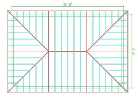 hip roof calculator roof framing hip roof design