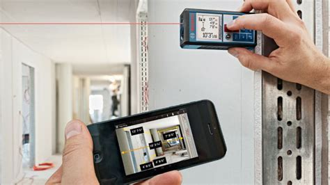 measuring app iphone an app connected laser measure will never mistake