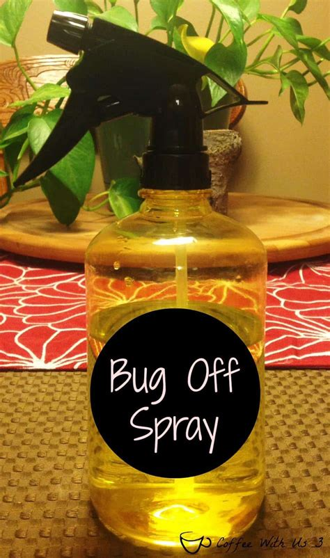 Why it happens, plus solutions. DIY Bug Off Spray   Coffee With Us 3