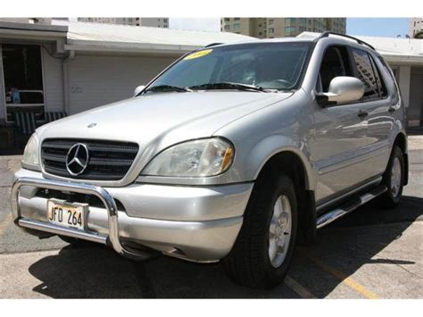 The ml class (w163) model is a car manufactured by mercedes benz, sold new from year 2001 until 2002, and available after that as a used car. 2000 Mercedes-Benz M-Class ML320 4MATIC for Sale in Honolulu, Hawaii Classified | AmericanListed.com
