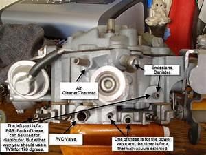 Quadrajet Vacuum Port Rochester Quadrajet Carburetor