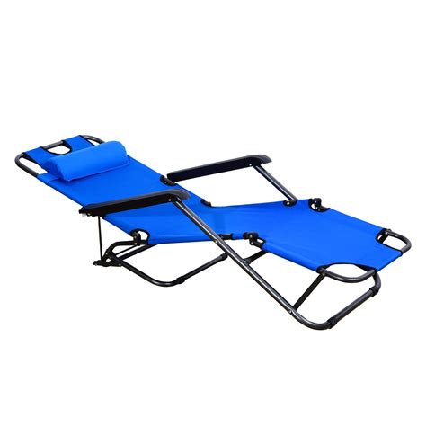 sun chaise lounge chairs lounger chair folding portable chaise sun lounger recliner outdoor pool furniture aosom ca