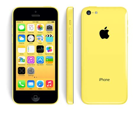 iphone 5c for cheap apple iphone 5c 16gb smartphone for att wireless yellow