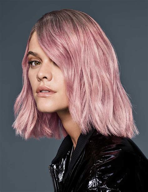 Pastel Pink Haircolor Redken