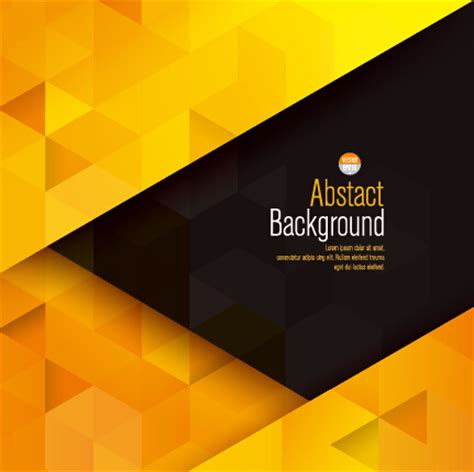 Abstract Black And Gold Background Png by Yellow With Black Modern Abstract Vector Background