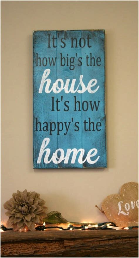 wood signs   add rustic charm   home