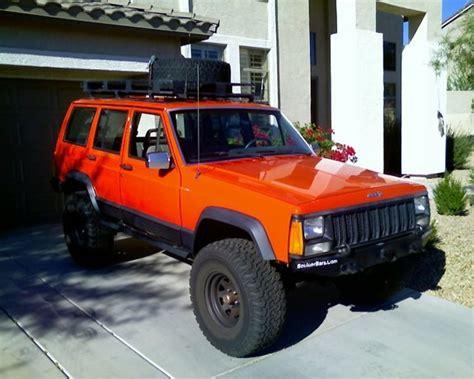 jeep cherokee orange you pick the new xj color nc4x4