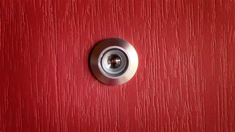 how to install a peephole in a door how to install a door viewer peep