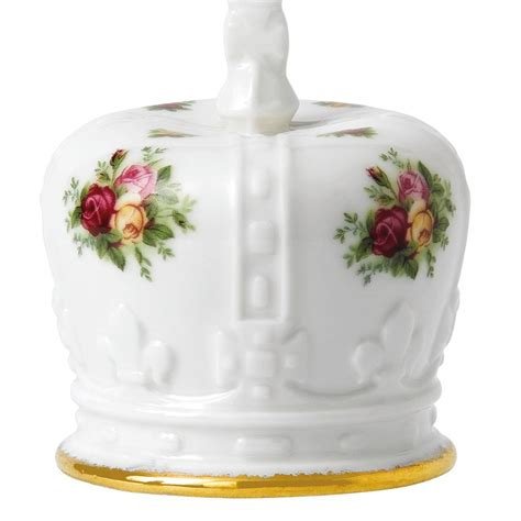 old country rose crown royal albert christmas ornament