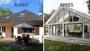 Veranda Leroy Merlin : extension en bois maison extension de maison avec toit ~ Premium-room.com Idées de Décoration