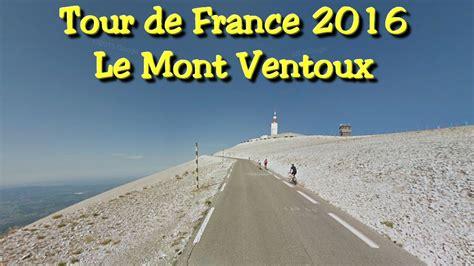 tour de mont ventoux preview mont ventoux tour de 2016 stage 12 last kilometers timelapse