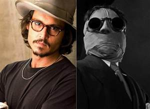 Johnny Depp será 'El hombre invisible' - ENFILME.COM