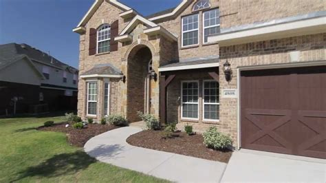 Hillcrest Model First Texas Homes Youtube