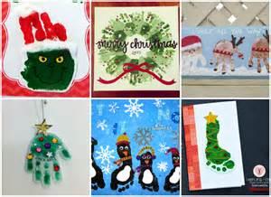 21 handprint and footprint christmas crafts nifymag com