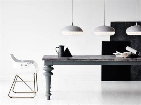 lamparas de techo  comedores modernos en acero