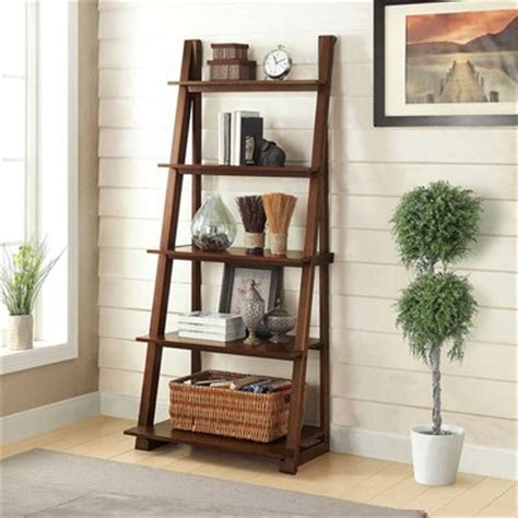 bayside furnishings ladder bookcase bayside furnishings karina ladder bookcase
