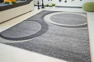 Teppich Grau Modern : moderner designer teppich toce global carpet ~ Whattoseeinmadrid.com Haus und Dekorationen