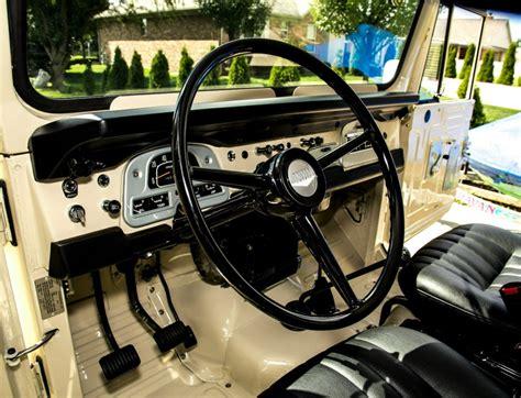 toyota jeep inside toyota land cruiser 1972 4 4 fj40 frame off restoration