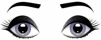 Eyes Clipart Eyebrows Clip Grey Female Eye