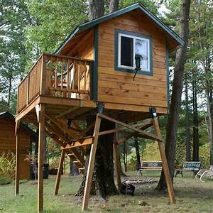 Free Standing Tree House Plans Designs