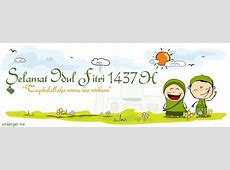 30 Contoh Desain Spanduk Idul Fitri 1437 H UNDANGANME