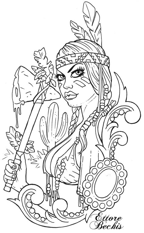 Sexyndiana   Fairy coloring pages, Skull coloring pages