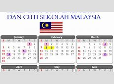 Kalendar Cuti Umum 2016 Dan Cuti Sekolah Malaysia JunaBlogg