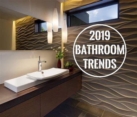 4 bathroom trends for 2019 � small bathroom renovations