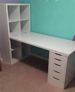Ikea Desk Hutch Hack by 25 B 228 Sta Ikea Hack Desk Id 233 Erna P 229