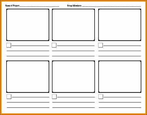 storyboard template  word sampletemplatess