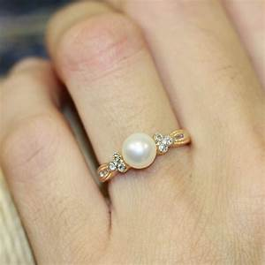 Vintage Engagement Rings With Pearls | www.imgkid.com ...