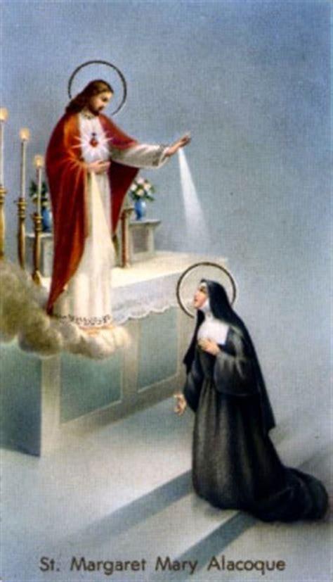 st margaret mary alacoque saints angels catholic