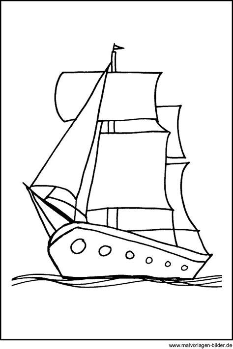 kostenlose malvorlagen segelschiff ausmalbilder