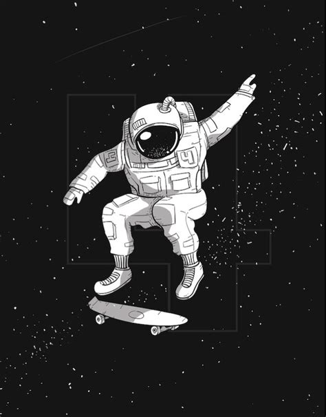 astronaut in space drawing the 25 best astronaut illustration ideas on