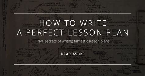 write  lesson plan  secrets  writing fantastic