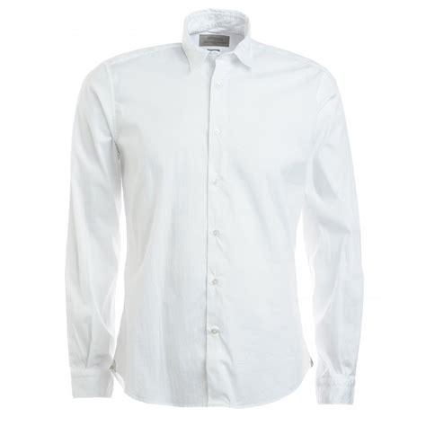 white button up blouse poggianti 39 s white sleeve button up stretch shirt