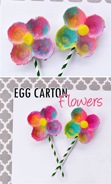 egg flowers crafts and learning for 653 | eefb7f824060007b5f4f4ddfa80c1a84