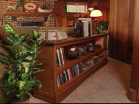 build  sofa tablebookcase hgtv