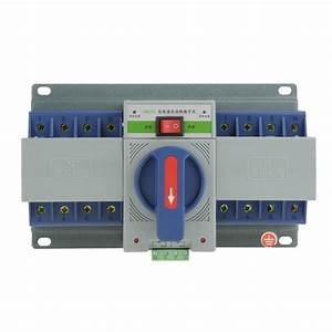 Circuit Breaker 220v Transfer Switch 63a 4p Mini Dual