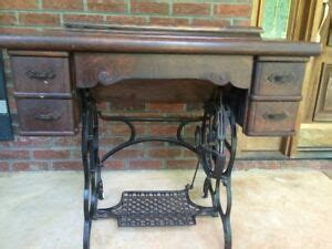 davis vertical feed treadle sewing machine with cabinet ebay