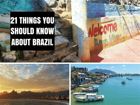 21 Things You Should Know Before You Visit Brazil