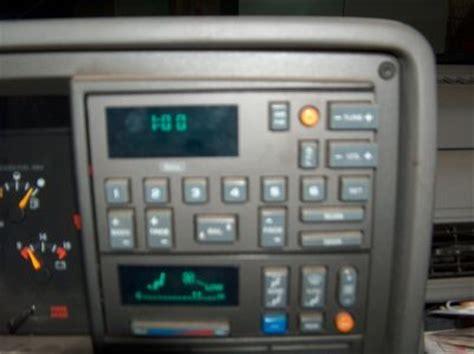 1992 gmc radio won t work electrical problem 1992 gmc
