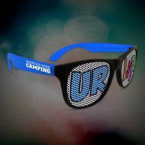 Can Do Promotions Inc Blue Custom Neon Billboard Sunglasses