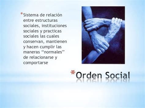 si e social de el orden social