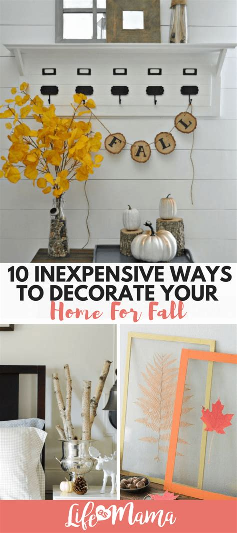 Cheap Easy Ways To Decorate Your Home by 10 Inexpensive Ways To Decorate Your Home For Fall Page